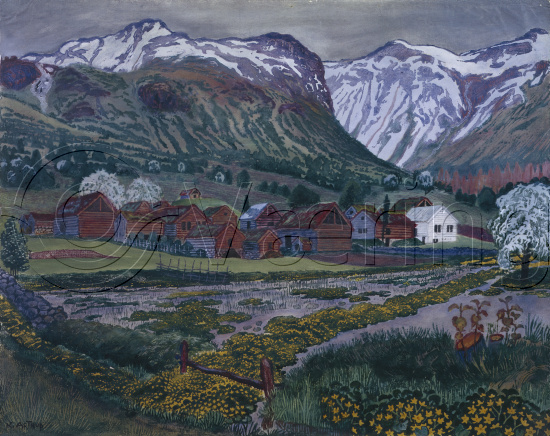Nikolai Johannes Astrup (1880-1928)