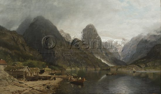 Artist: Nils Bjørnsen Møller (1827-1887)
