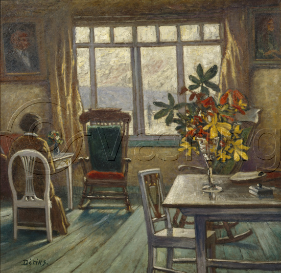 Karl Edvard Diriks (1855-1930),