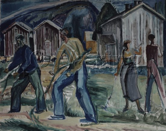 Artist: Hallvard Trætteberg (1898-1987)