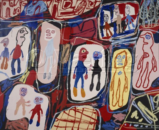 Jean Dubuffet (1901-1985) French painter