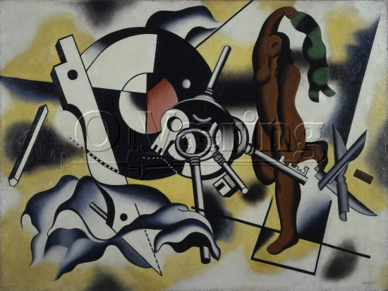 Artist: Fernand Léger (1881-1955) French artist/