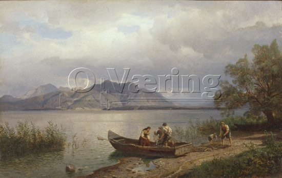 Hans Fredrik Gude (1825-1903) 