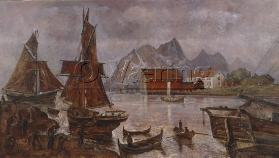 Karl Erik Harr (1940 - ), 