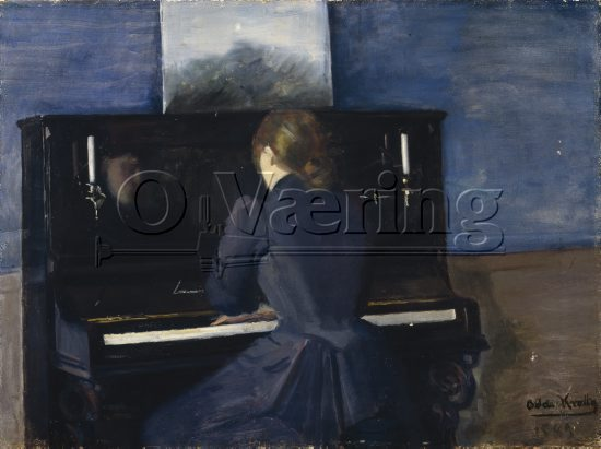 Oda Krohg (1860-1935), 