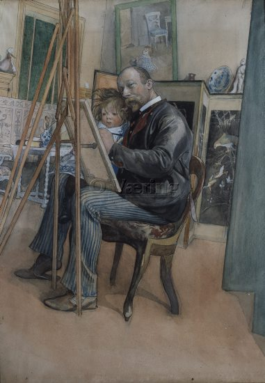 Artist: Carl Larsson (1853-1919)