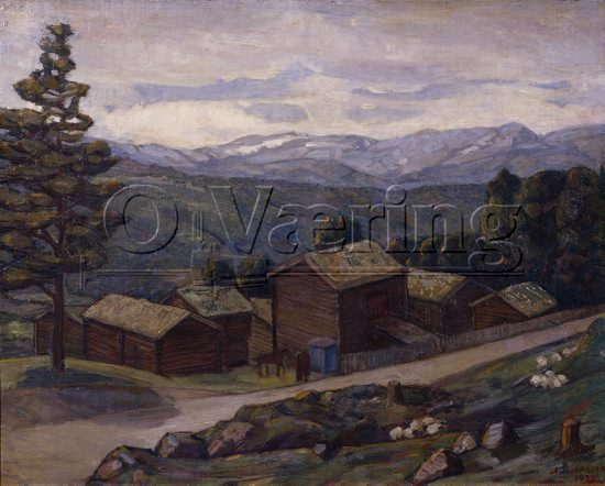 Anders Castus Svarstad (1869-1943), 